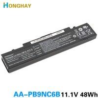 HONGHAY AA PB9NC6B Laptop Battery For Samsung PB9NS6B PB9NC6B R580 Q460 R468 R525 R429 300e4a RV511 R528 RV420 RV508 355v5c R428
