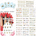 2015 NEW 50PCS/lot  BLE1852-1862 High Quality Nail Art  Minions Cartoon Pattern Water Transfer Print Nail Art Sticker Decal- 1