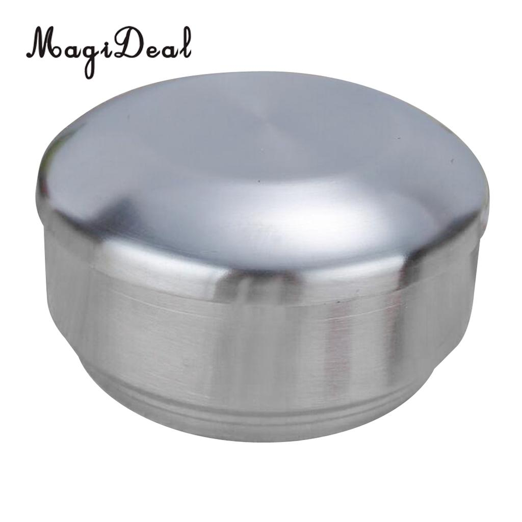New Round Portable Outdoor Bento Box For School Kids Stainless Steel Mess Tin