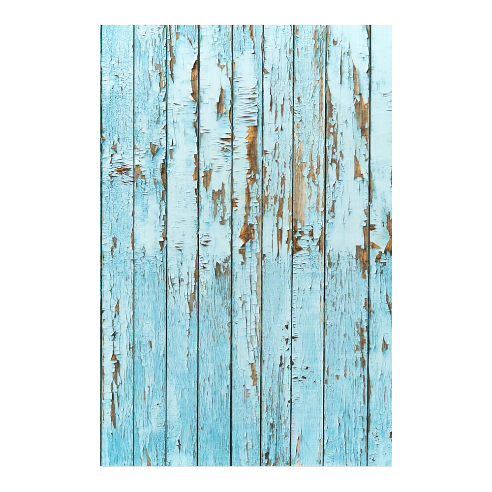 100x150cm Blue weathered floor photography backgrounds for photo studio portrait