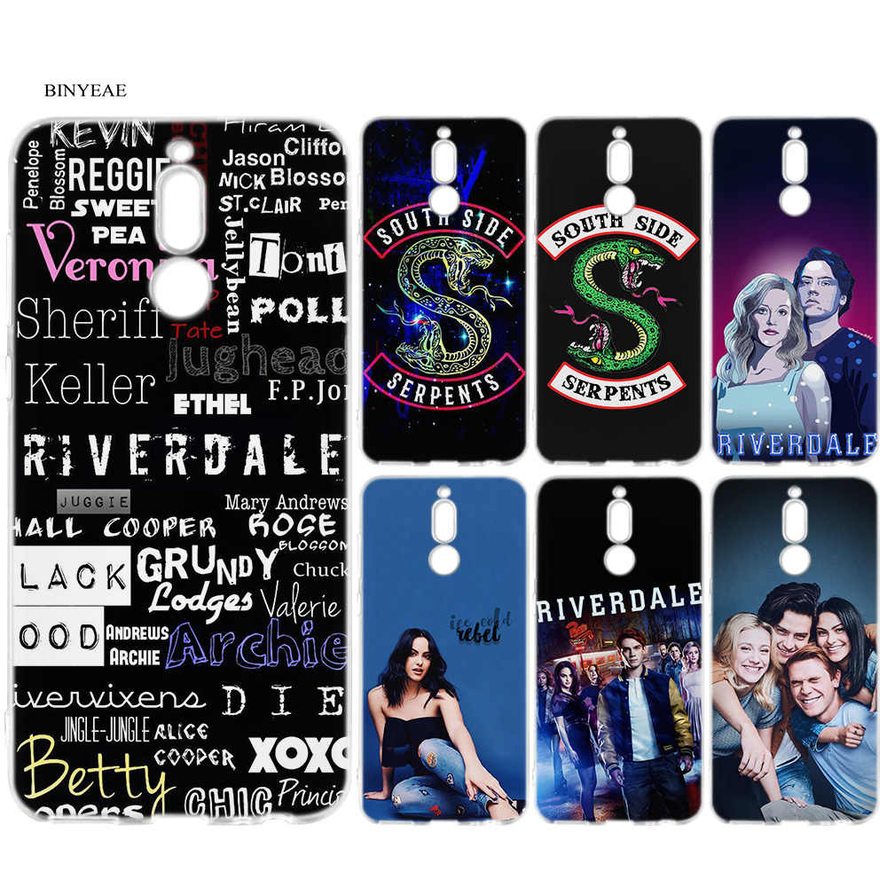 Soft Cover Case for Huawei Mate 10 20 P10 P20 P30 Honor 9 10 Lite Pro P Smart 2019 TV Riverdale Rubber Coque Cases Back Shell