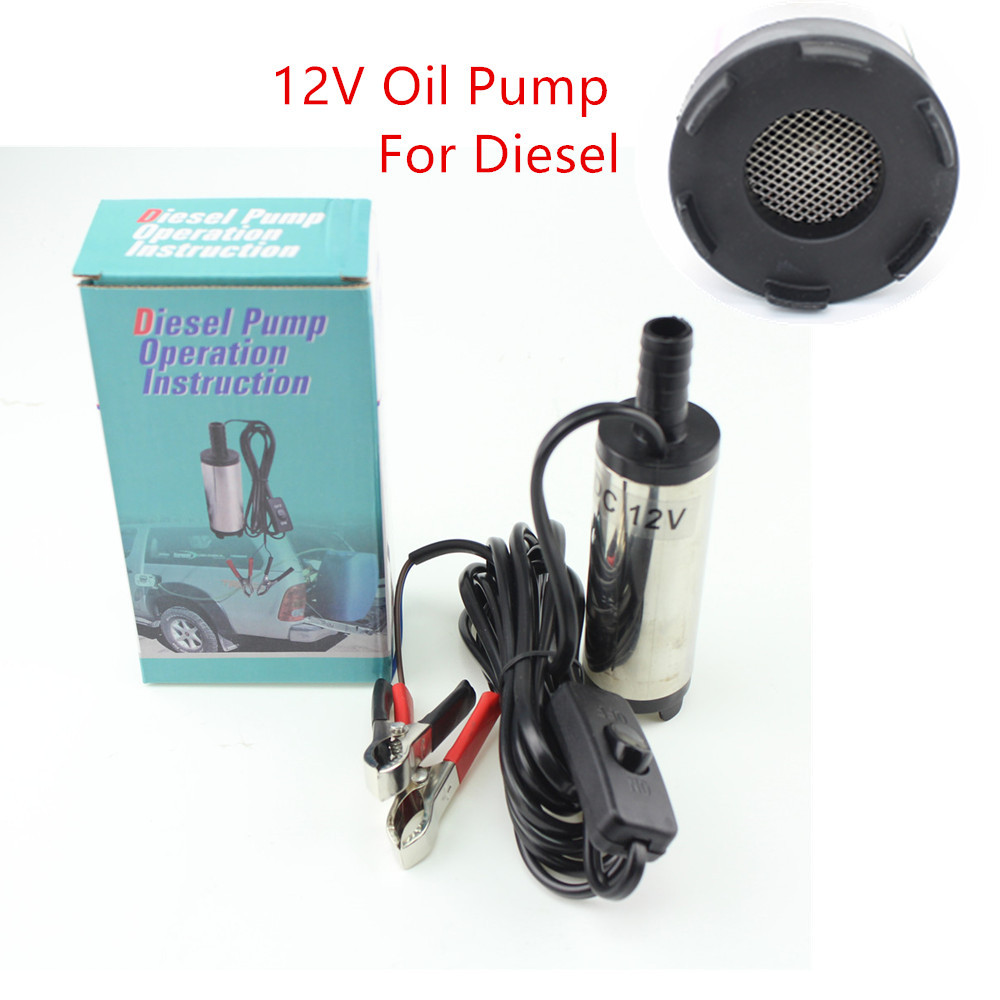 12v Dc Car Electric Submersible Pump Diesel Fuel Water Oil Transfer Automobile Horn Relay For Transfer12l Minstainless