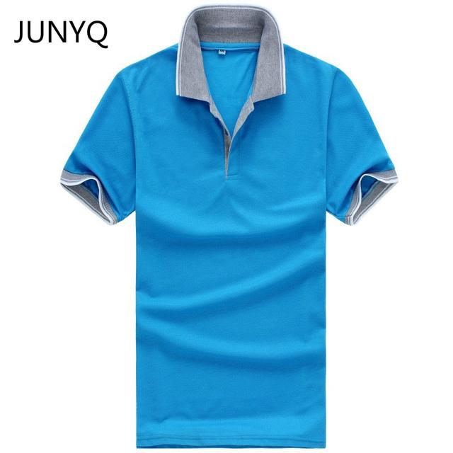 2017 novo estilo verão camisa lapela T prateleiras oito cores camisas casual T frete grátis