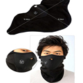 New 1x Neoprene Neck Warm Face Black Soft Mask Sport Motorcycle Bike Veil Cap FC