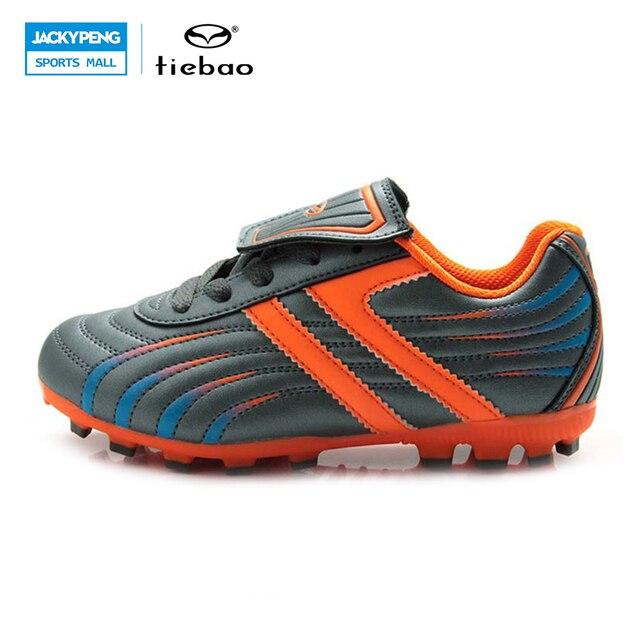 632a8bb577236 Tiebao profesional al aire libre de fútbol botas niños niños adolescentes h  y una suela botines de