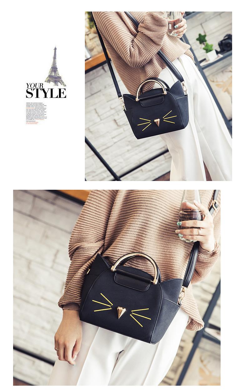 Stunning Cat Face Handbag