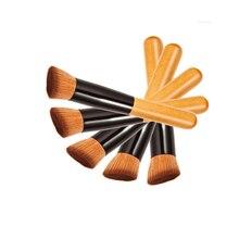 1PCS Multi-Function Pro Makeup Brushes Powder Concealer Blush Liquid Foundation Brush Cosmetic Wooden Kabuki Brushes Cosmetics