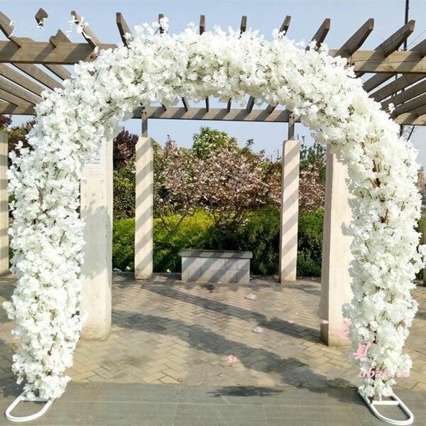 2.3M Upscale Wedding Centerpieces Metal Wedding Arch Door Hanging ...