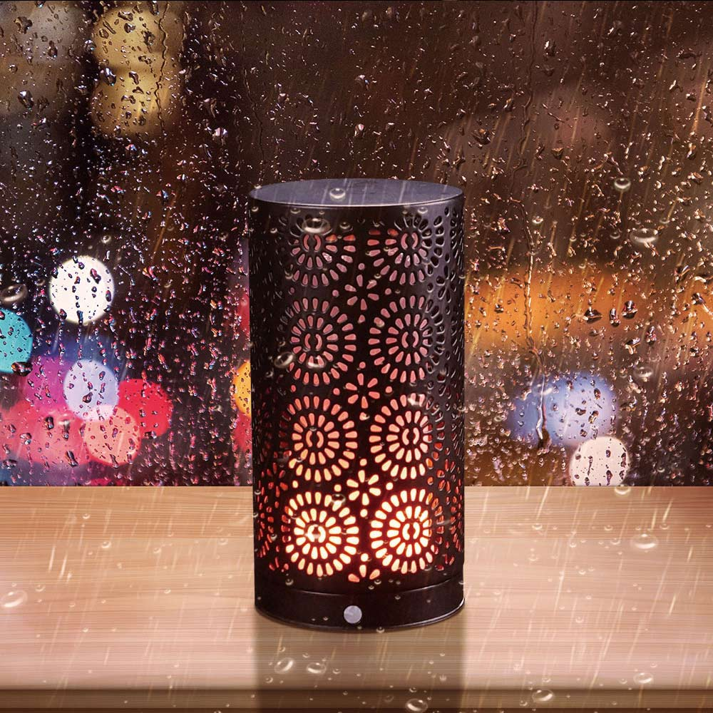 LED Flame Light Bulb Flickering Flames Table Lamp Decor for Holiday Hotel Bars Home Room JA55