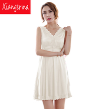 sexy dress nightgown robe Women lingerie Candy color sling household Sexy Lace Babydoll Women Underwear Lingerie free shipping