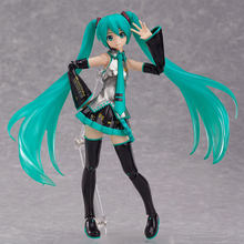 New FIGMA 200 Hatsune Miku guitar Version Anime 15CM Action Figure Model Toys Gifts(China)