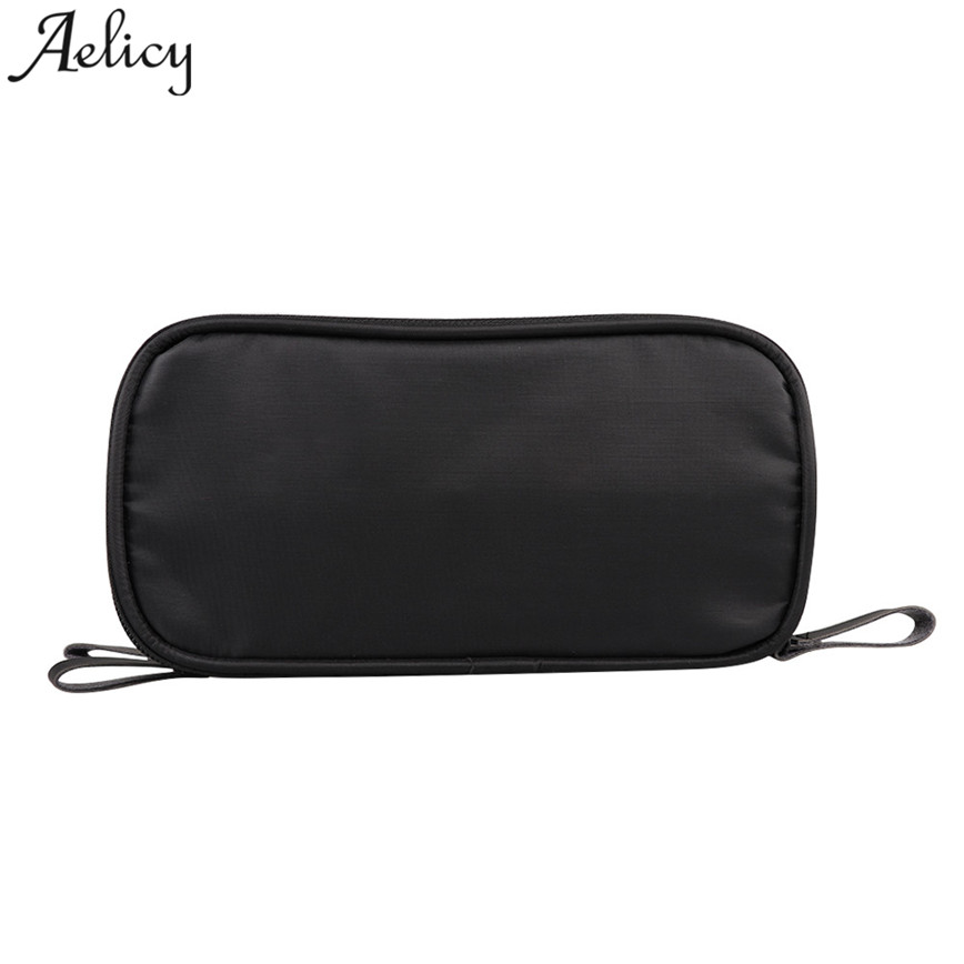 Aelicy Small Cosmetic Bags Women Portable Travel Wash Storage Bag Zipper Nylon Cloth Lady Handbags Female Makeup Bag S30 polo authentic golf standard packages bag pulley drawbars travel professional lady rod bag standard cue packages nylon with pu
