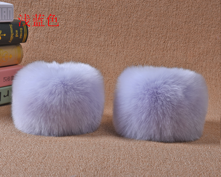 Faux Fox Fur Arm Warmers Women Cuff Faux Raccoon Fur 2pcs Big Sleeve Decor Rings Hand Fur Winter Multicolor Oversleeves Yt04 To Rank First Among Similar Products Apparel Accessories