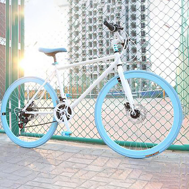 Road Bicycle 26 Inch 24 Speed Disc Brake DIY Custom Made Multicolor Neutral Inverted Brake Bike Riding Sports And Entertainment