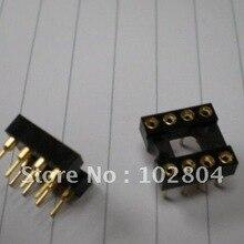 IC розетка адаптер позолоченный DIP стандарт 8 PIN Высокое качество 30 дней гарантия возврата 20 штук в партии