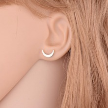 3 Pcs/set Crystal Branch Moon Star Heart Stud Earrings