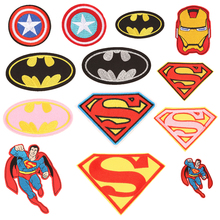 Hero Serices Embroidered Stripes Cloth Badges for Clothes Backpack Patches Clothing Iron on Patch