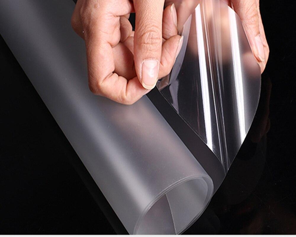 90 cm * 500 cm 2mil Mat imperméable à l'eau auto-adhésif de film de rouleau de papier peint pour meubles de cuisine autocollant maison decoration35.4 ''x196. 8''