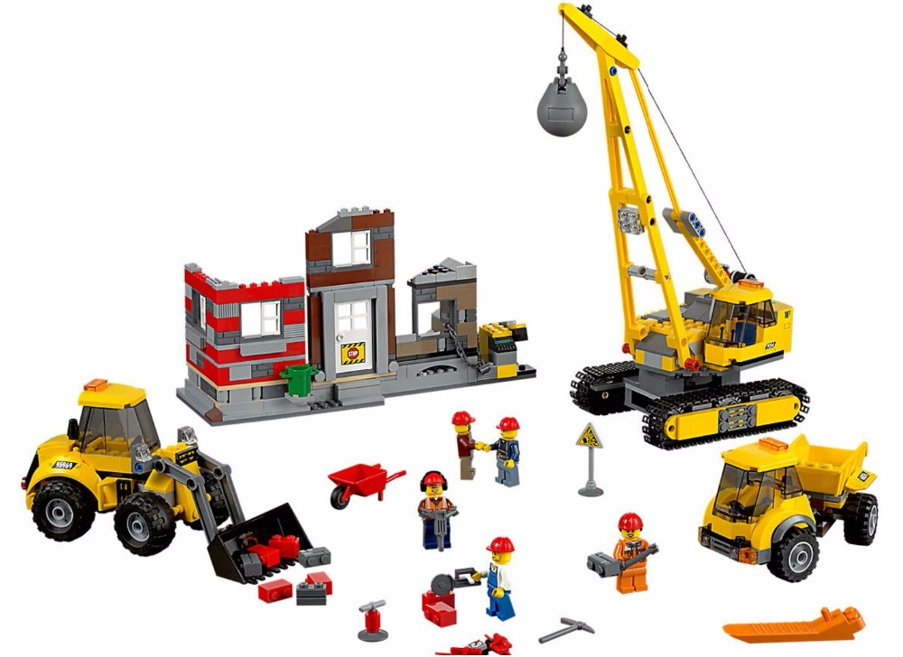 LEPIN 02042 City Series Demolition Site 60076 Gold Mine excavation Building Blocks 869pcs Bricks Toys Gift site forumklassika ru куплю баян юпитер
