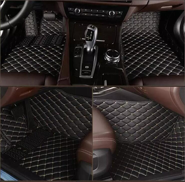 Pour Mercedes Benz classe E W212 E260L E300L conduite à droite et à gauche noir tapis de sol avant arrière tapis de protection