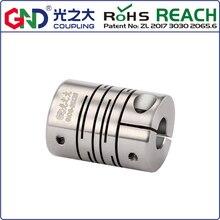 Bulk price for 50 pieces GIC aluminum alloy diameter 25 mm length 25 mm parallel clamp series shaft coupling цены