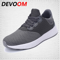 DEVOOM Youth Lovers Casual Shoes Fashion Walking Shoe Breathable Mesh Unisex Skaters Lightweight Outdoor Flats Men