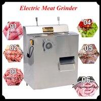 1500W Electric Meat Grinder Stainless Steel Multipurpose Kitchen Slicer Commercial Stuff Mincer QRLS 400
