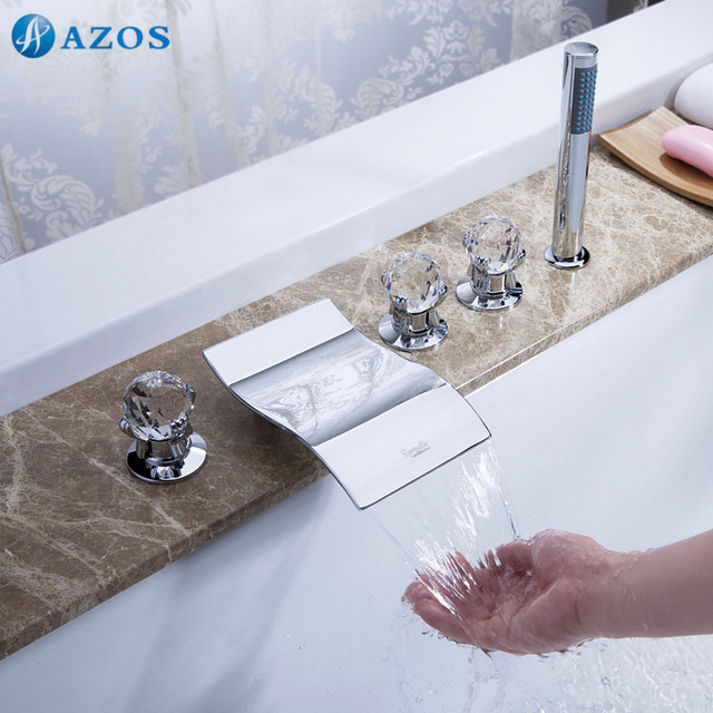 Badewanne Dusche Armaturen Kleinmessingchrompolitur Bad Suana 5
