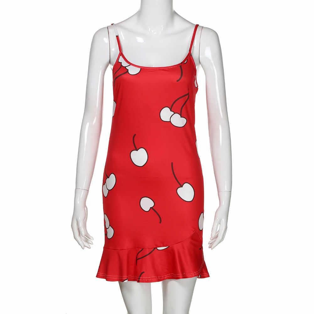 Летнее платье Для женщин 2019 сексуальное, обтягивающее, бандаж Повседневное Вечерние Короткие мини-платье дамы печати роковой старинные пикантное платье vestidos
