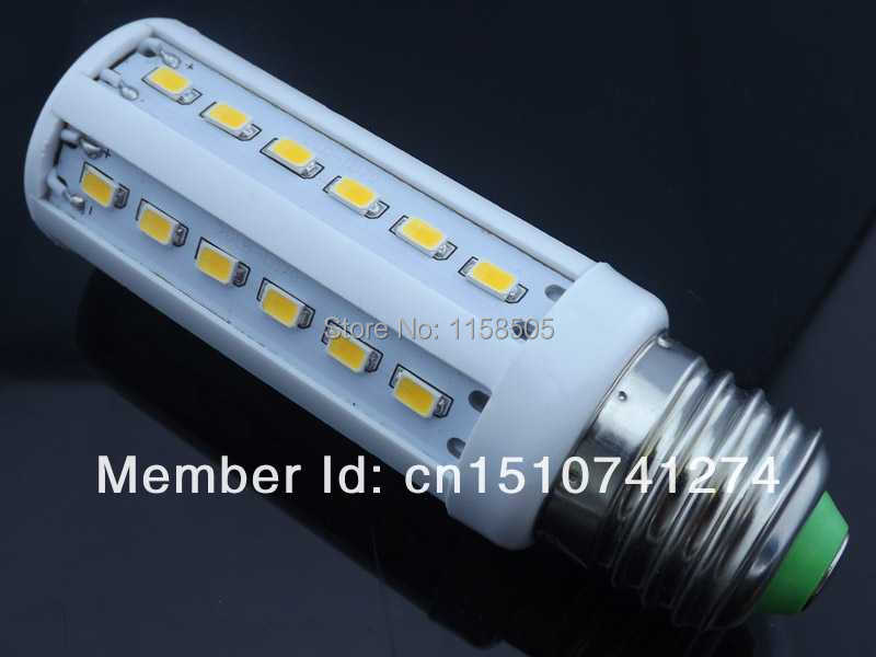 20pcs/lot NEW E27 B22 E14 12W 42 LED 5730 SMD 110V/220V LED Corn Light LED Bulbs Lamp( Free Shipping / 2-year warranty)