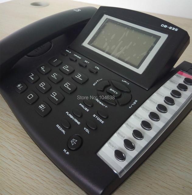 Avanzada Identificador de llamadas de Teléfono/Teléfono DB835 PABX/PBX de teléfono de la Oficina