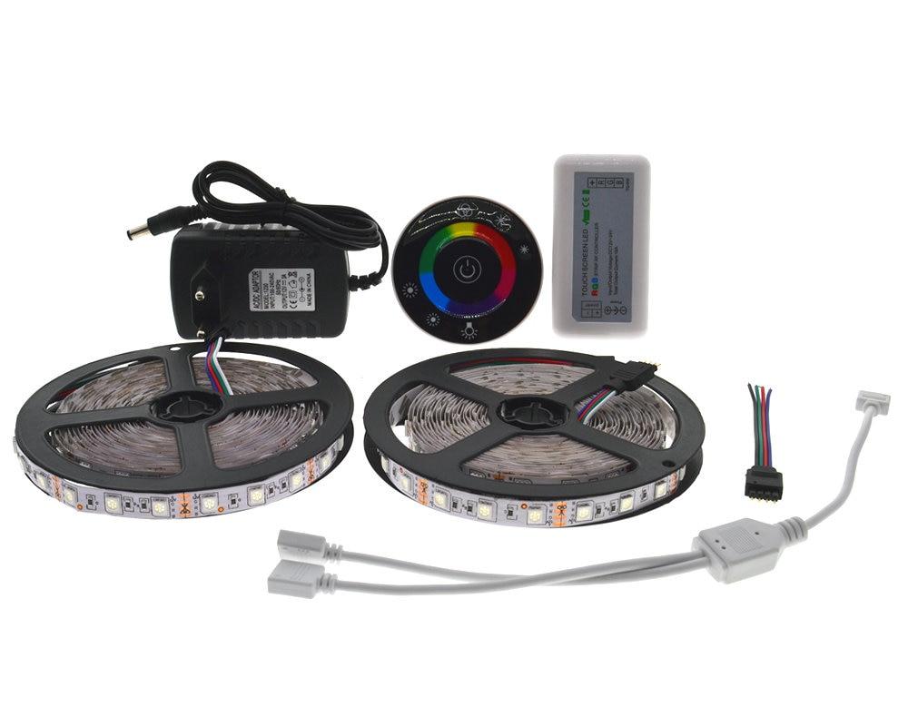 10M SMD 5050 RGB LED şeridi 7Keys Simsiz RF sensoru idarəedicisi - LED işıqlandırma - Fotoqrafiya 2