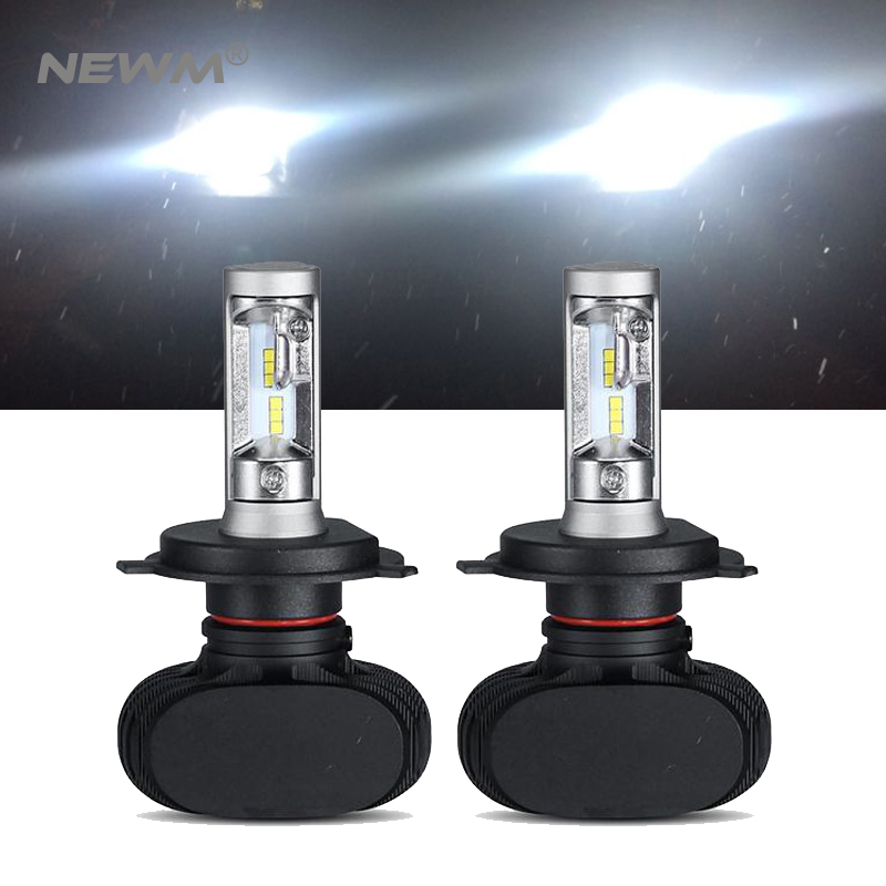 S1 CSP Led Headlights H1/H3/H4/H7/H11/H13/9005/9006 LED Car Headlight Bulb Hi-Lo Beam 50W 8000LM 6500K Auto Led Headlamp 12v 24v h4 h7 h11 h1 h13 h3 9004 9005 9006 9007 9012 cob led car headlight bulb hi lo beam 72w 8000lm 6500k auto headlamp 12v 24v%2