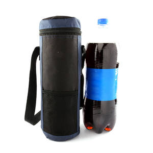 Water Bottle Cooler Tote Bag Insulated Holder Carrier Cover Pouch for Travel YA88