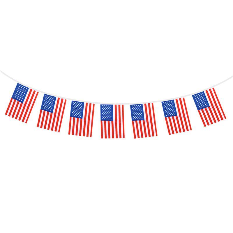 8.5M Patriotic American Flag Banner Printed Stars and ...