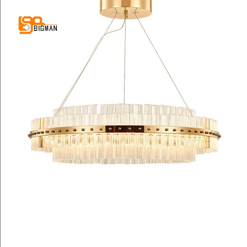 все цены на new arrival glass chandelier lighting modern chrome gold living room dinning room chandelier coffee room light wideth 50cm