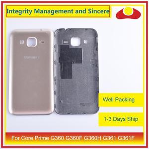 Image 3 - 50 sztuk/partia dla Samsung Galaxy J2 Prime G532 G532F SM G532F obudowa klapki baterii tylna część obudowy obudowa Shell wymiana