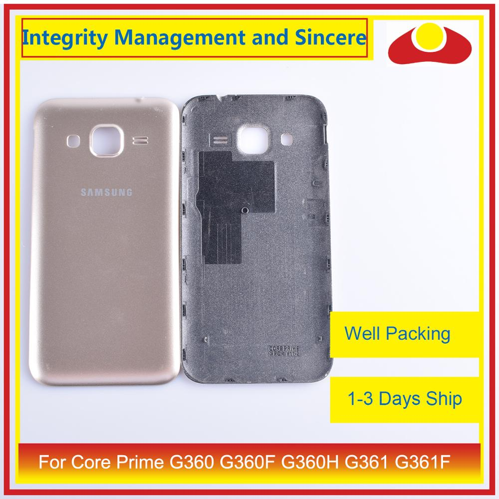 Image 3 - For Samsung Galaxy Core Prime G360 G360F G360H G361 G361F Housing Battery Door Rear Back Cover Case Chassis Shell Replacement-in Mobile Phone Housings & Frames from Cellphones & Telecommunications