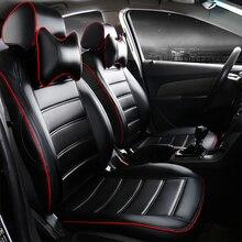 Asientos de cuero del coche cubre para Hyundai ix30/35 Sonata ELANTRA Terracan Tucson Accent coupe SantaFe XG Trajet Matriz EQUUS Veracruz
