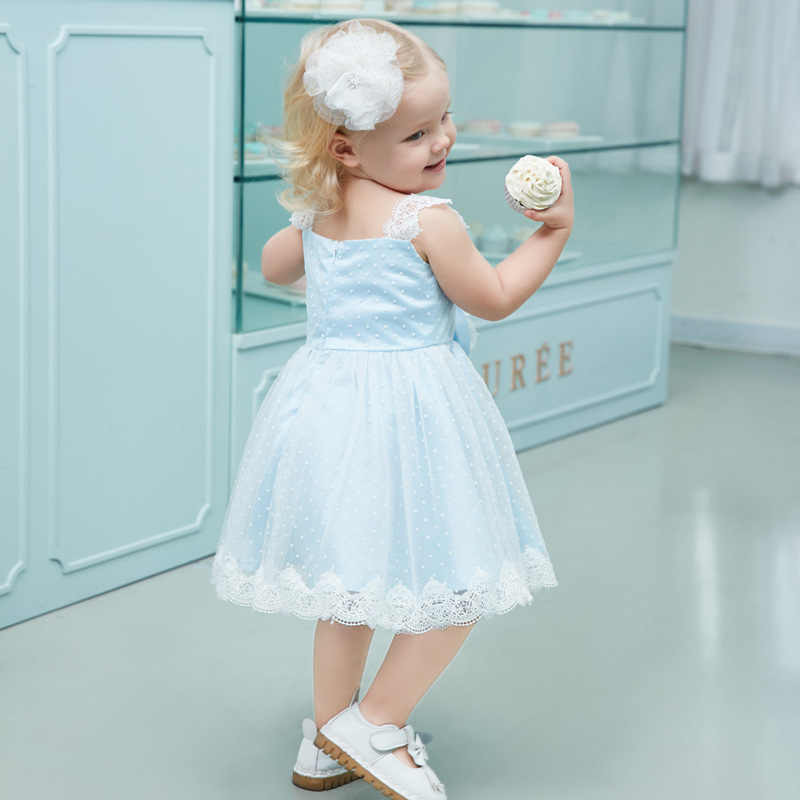 203ff87c2 Baby Girl Strapless Dress Infant Princess Little Girls 3 4 5 6 Years  Birthday Party Wedding
