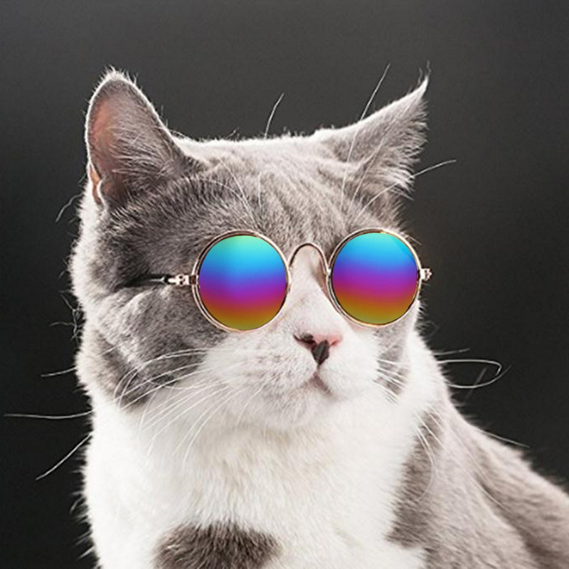 1pc New Fashion Pet Cat Dog Glasses Creative Pet Products For Little Dogs Cats Eye-wear Dogs Sunglasses Photos Pets Accessoires
