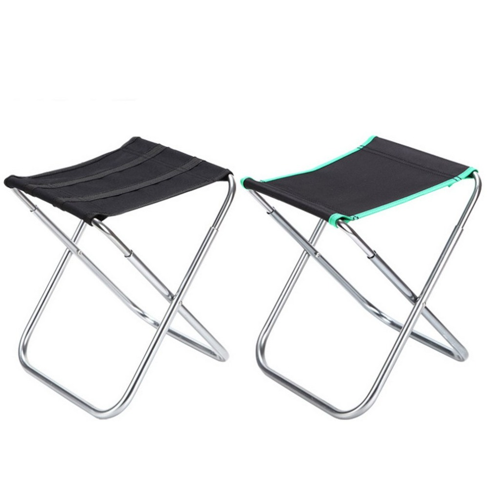 Compact Folding Camping Chair Lightweight Portable Aluminum Hiking Fishing Seat