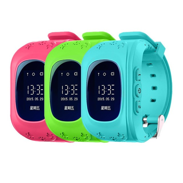 Smart watch niños kid reloj caliente q50 gsm gprs gps localizador rastreador anti-perdida smartwatch niño guardia para ios android