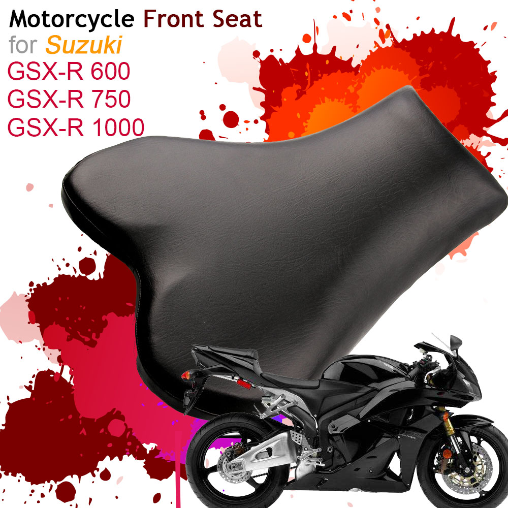 Front Driver Rider Seat for Suzuki GSXR 600/750/1000 GSXR600 GSXR750 GSXR1000 Motorcycle Seats Leather Cushion