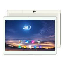 Android 6.0 Tablet PC Tab Pad 10.1 Дюймов IPS 2 ГБ ОПЕРАТИВНОЙ ПАМЯТИ 16 ГБ ROM Две СИМ-Карты ООО FDD Телефонный Звонок 10.1 «Phablet