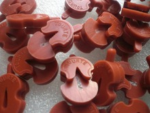 10 PCs Red Color Violin Practice Mute TOURTE mute