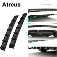 Atreus Car Rear Bumper Exhaust Pipe Chassis Shark 7 Wings Spoiler For Lexus Honda Civic Opel astra h j Mazda Kia Rio Ceed Volvo