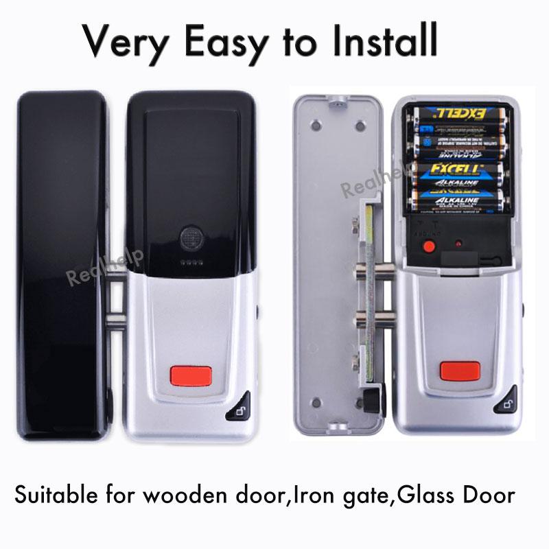 Fit for all kinds of door  Wireless Door Lock Security Keypad Digital Keyless Door Lock Hold on 2000KG Entry Office Acces силиконовый чехол для пульта dji phantom 3 adv pro phantom 4 inspire 1 gogear