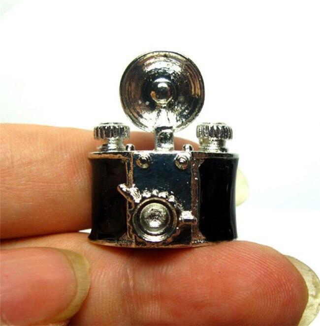 1:12 Dollhouse Miniature Furniture Room Black Metal Camera Figure Landscape