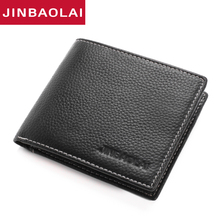 Classic Cow Leather Wallet Men Small Short Wallet Men Luxury Brand Male Purse With Card Holder Dollar Price Credit Id Card Purse hanup 2016 luxury men wallets leather male money purses famous brand new designer short purse with card holder dollar price